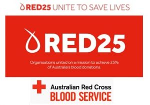 Australian Red Cross Service Sign